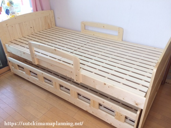 男の子は一緒に寝るのはいつまで?③とうとうベッドを購入!親と離れて寝る練習のはずが・・・