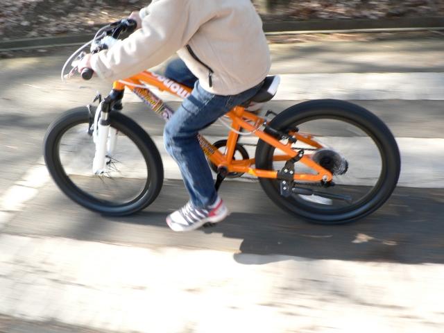 ダウンちゃんだからって諦めないで!!大丈夫、自転車にだって乗れるようになります♪